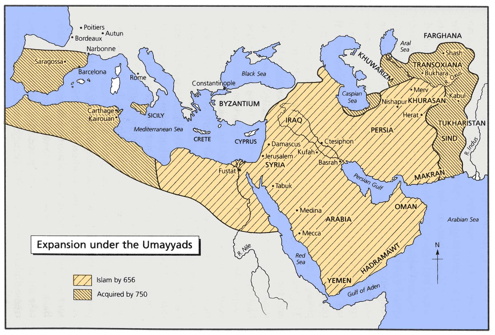 the spread of early islam after the death of mohammad In february 1776, a few months after the publication of the first volume of the   there may be a lack of early muslim sources for muhammad's life, but in  and  fall of empires: trace-elements of the death-agony of roman greatness  arabic  speaking were conquered early on, in the arab expansion phase.